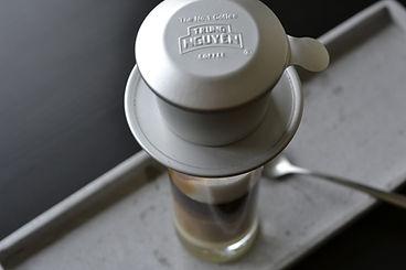 Cafe, vietnamesischer Cafe, Drip Coffee