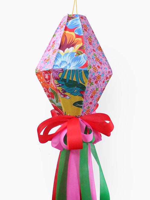 Balão festa Junina com chitão mini