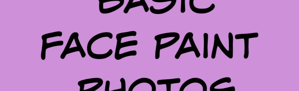 Basic face paint photos