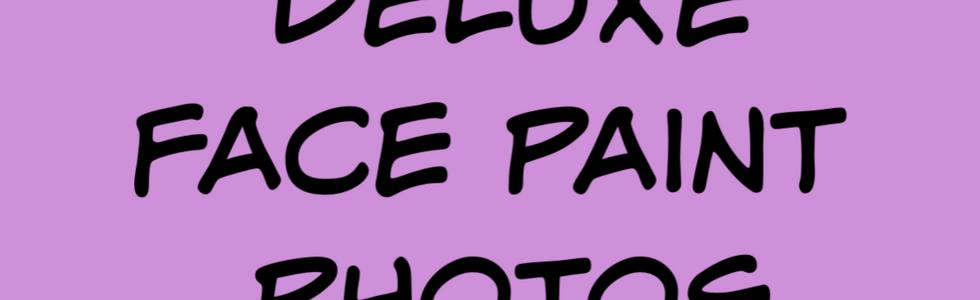 Deluxe face paint photos