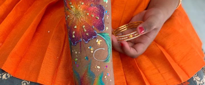 arm art - Flower
