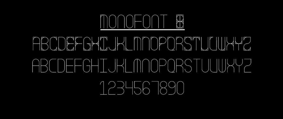 Monofont