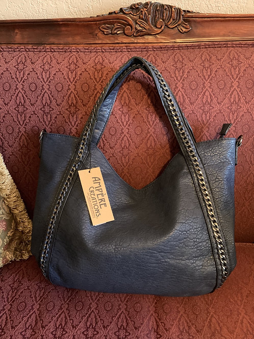 The Daphne Tote-Navy