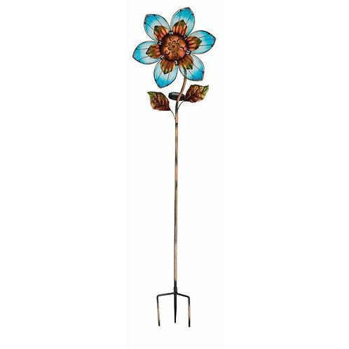 """Giant Solar Flower Stake- 57"""""""