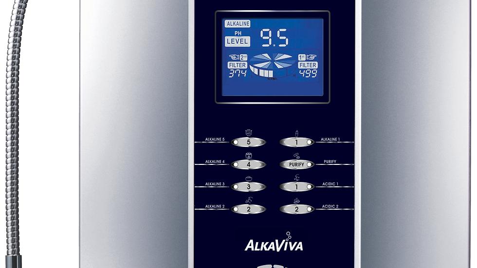 Alkaviva Athena H2 7-Plate Alkaline Water Ionizer & Dual Water Filter Purifier