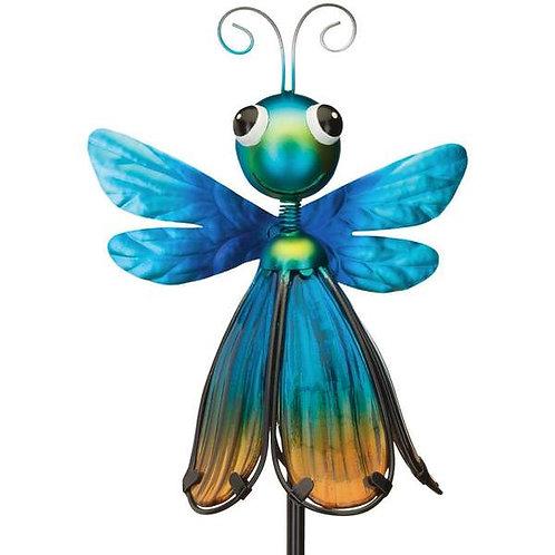 Flower Bug Solar Stake