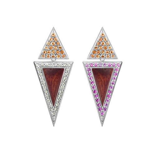 Triangulum Tall Earrings