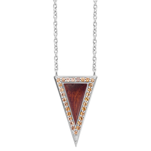 Tall Triangulum Longchain Necklace