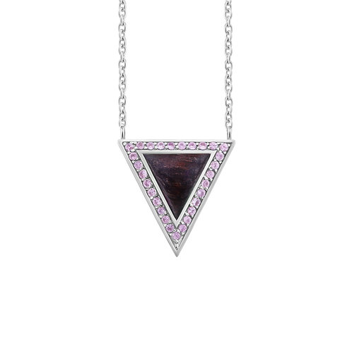 Triangulum Long Chain Necklace