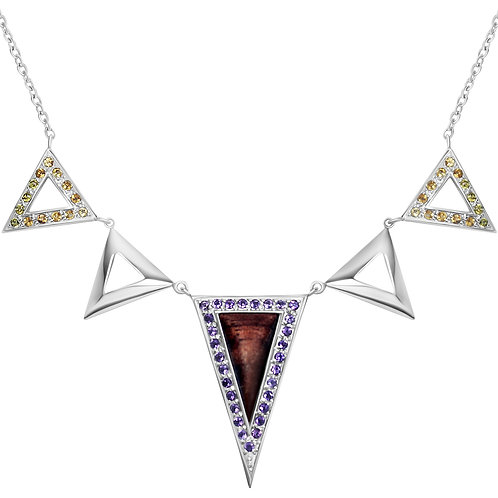 Triangulum Multiple Necklace