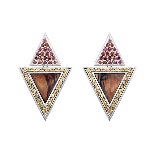 Triangulum Earrings