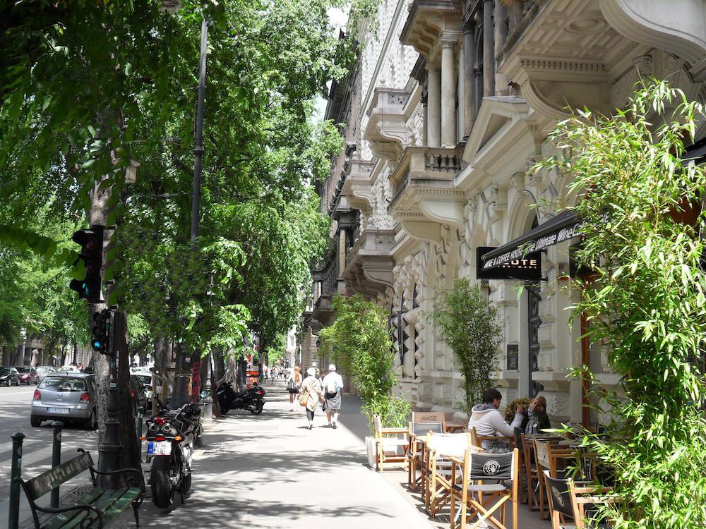 Budapest, Sightseeing, Andrassy street