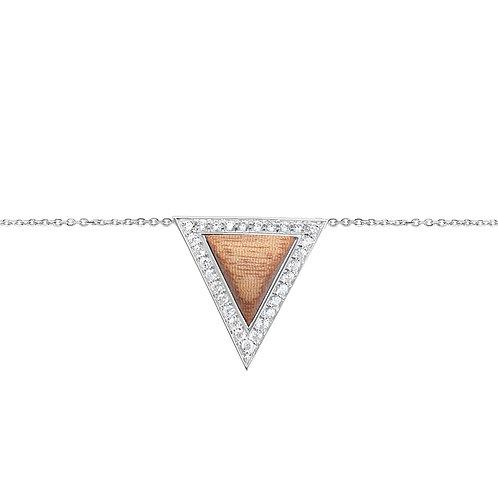 Triangulum Bracelet White