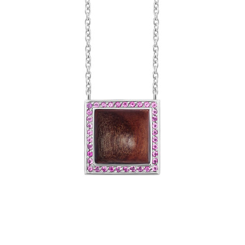 Quadratum Long Chain Necklace