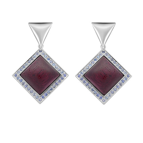 Quadratum Triangulum Earrings