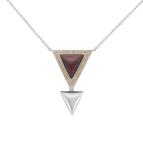 Triangulum Necklace Yellow Sapphire