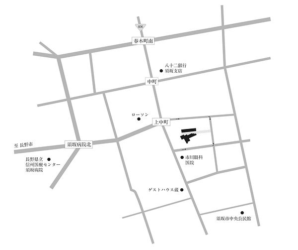 一顆とりり, 写真館, 刺繍絵, 地図, MAP, 長野, 須坂, 宮崎純一, 宮崎友里