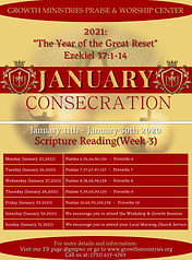 4. 2021 GMPWC January Consecration - 3rd
