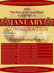 3. 2021 GMPWC January Consecration - 2nd