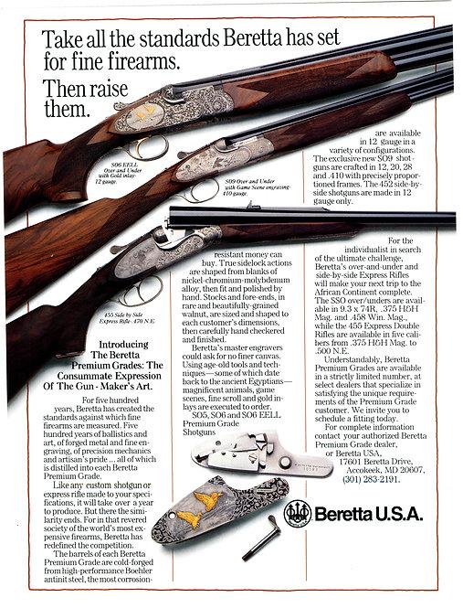 Beretta - Take all the standards Beretta has set for fine firearms.