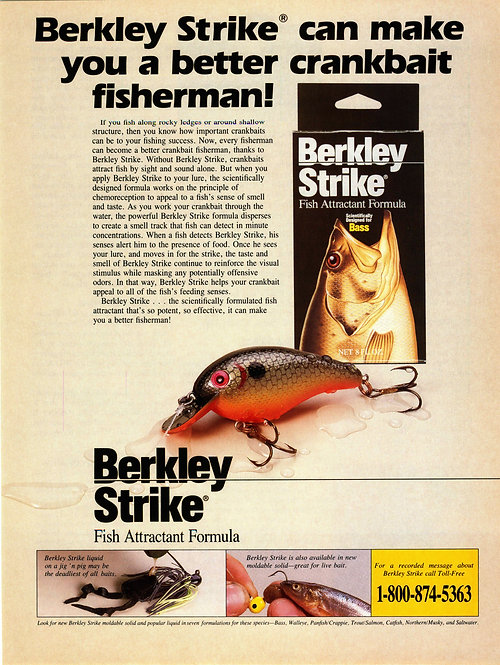 Berkley Strike - Can make you a Better Crankbait Fisherman
