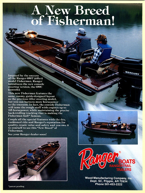 Ranger Boats - A New Brand of Fisherman