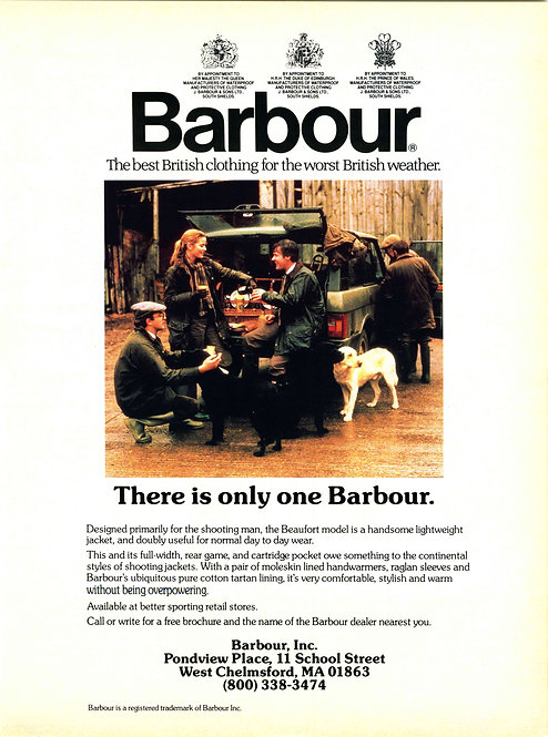 Barbour - There is only one Barbour
