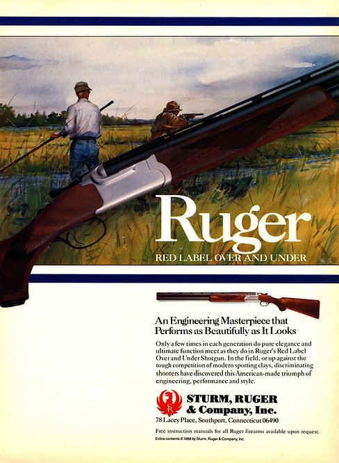 Ruger - Red Label Over and Under