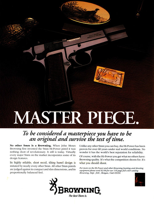 Browning - Master Piece