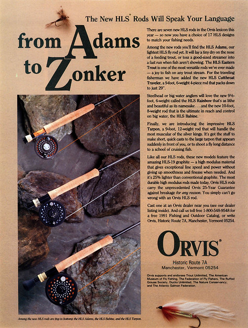 Orvis - From Adams to Zonker
