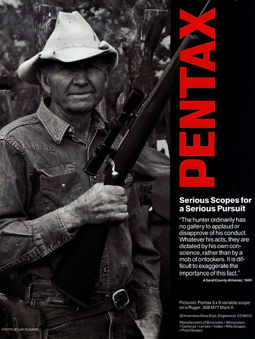 Pentax - Serious Scopes for a Serious Pursuit