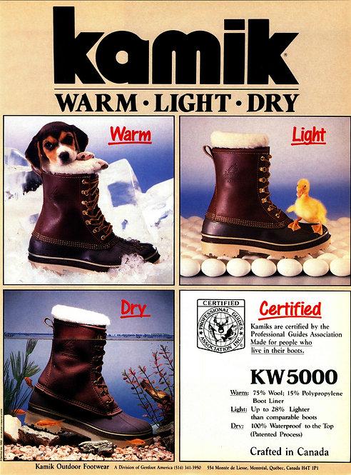 Kamik - Warm, Light, Dry