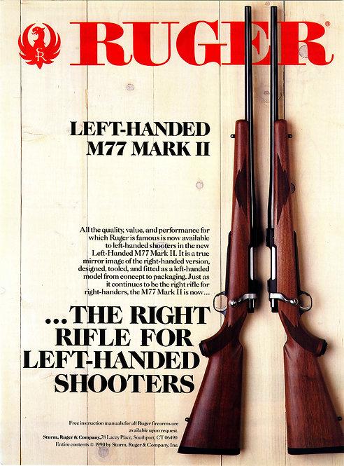 Ruger - Left-handed M77 Mark II