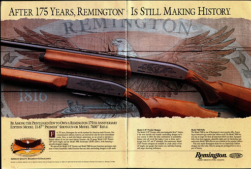 Remington - After 175 Years, Remington is Still Making History
