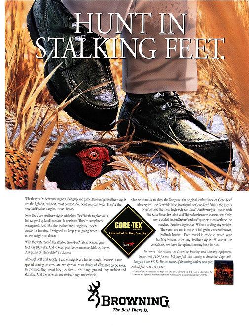 Browning - Hunting in Stalking Feet