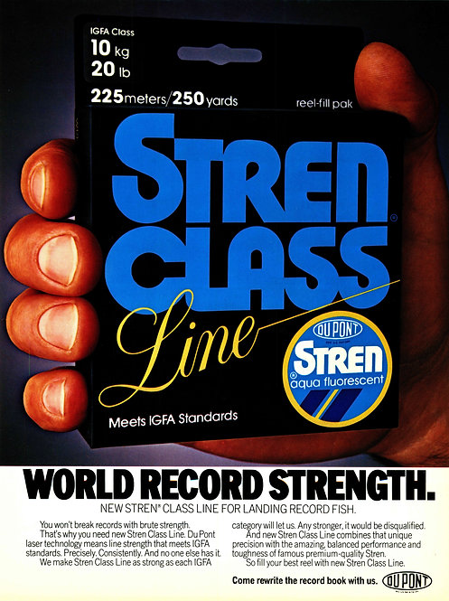 Dupont Stren Class Line - World Record Strength