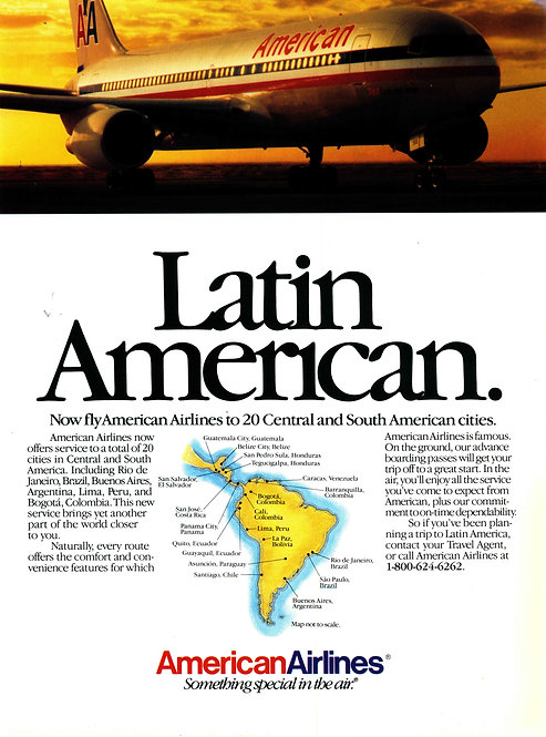 American Airlines - Latin American