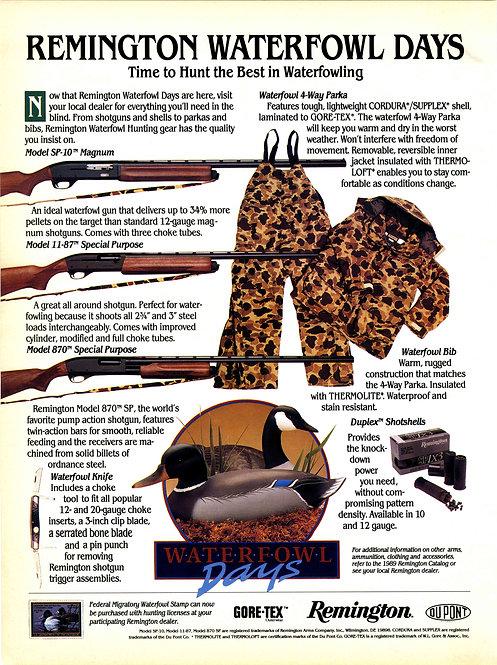 Remington - Waterfowl Days