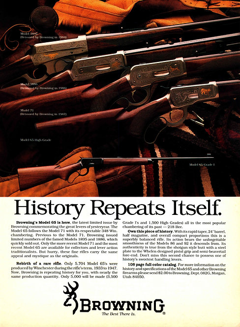 Browning - History Repeats Itself