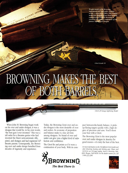 Browning Makes the Best of Both Barrels