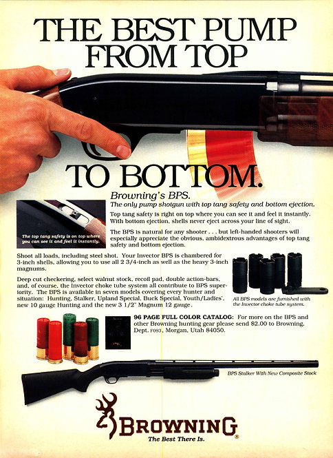 Browning - The Best Pump from Top to Bottom
