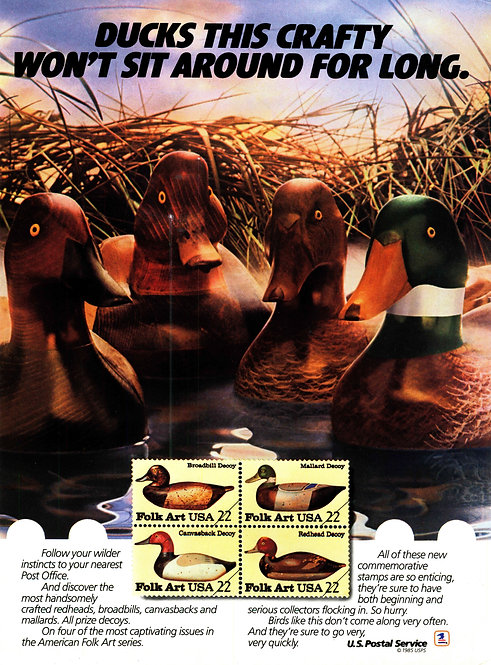 USPS - Ducks this Crafty Won't Sit Around for Long