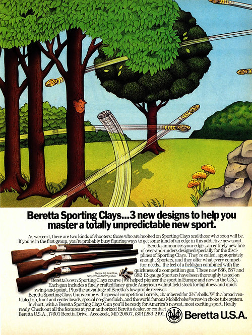 Beretta Sporting Clays 3 New Designs