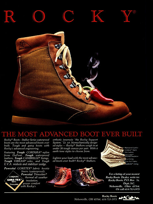 Rocky Boots - The Most Advanced Boot ever Built