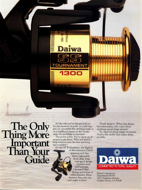 Daiwa - The Only Thing More Important Than Your Guide