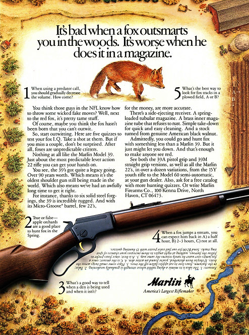 Marlin - It's bad when a fox outsmarts you