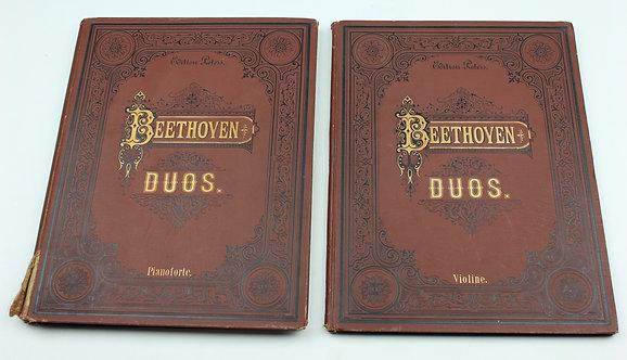 Sonaten für Pianoforte und Violine by Ludwig van Beethoven