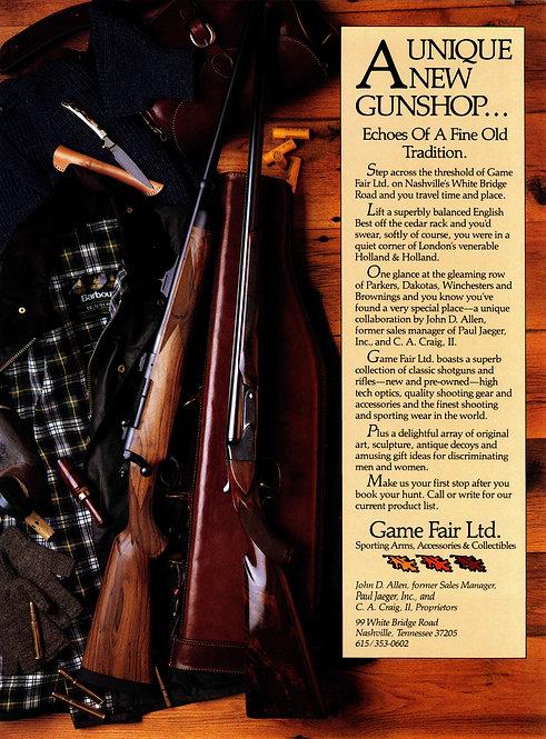 Game Fair Ltd. - A Unique New Gunshop