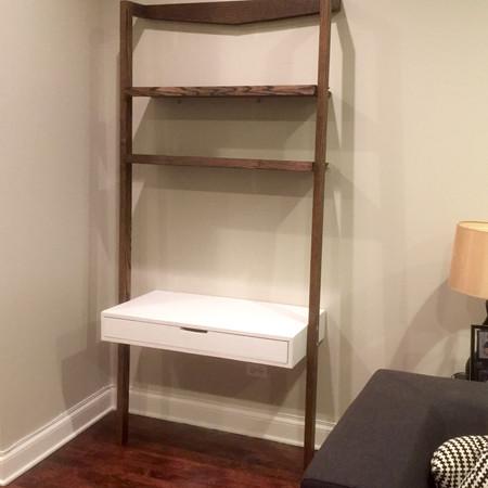 Ladder Desk Built-In