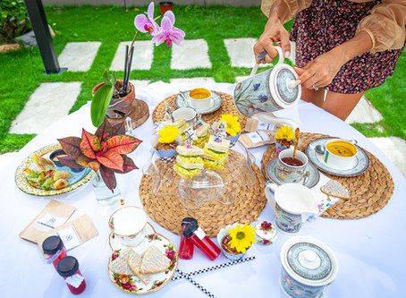 Alice in Wonderland Themed Tea Party- Vegan Style